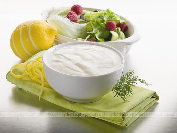 Jogurtowy Dressing Do Salatek