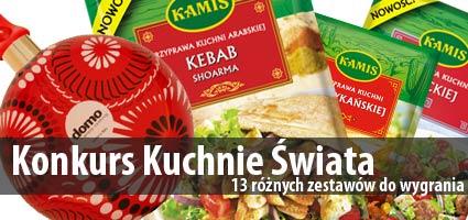 Konkurs Kuchnie Świata z Kamisem